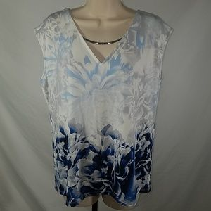 NWT Calvin Klein Sleeveless Blouse